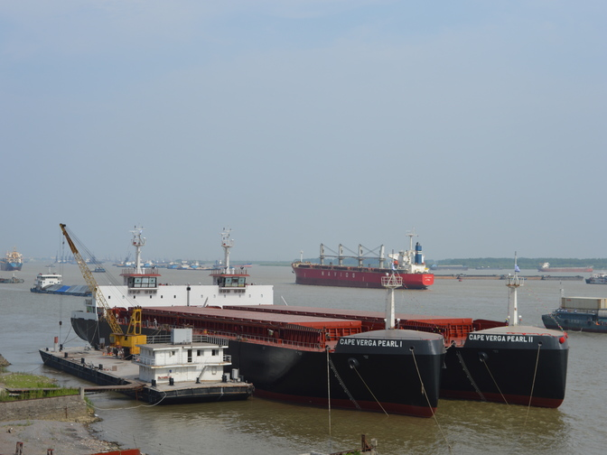 Oplevering bauxiet carriers SMT Shipping Concordia Damen