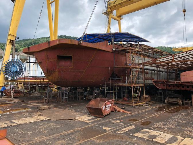 Sendoliner in aanbouw Concordia Damen