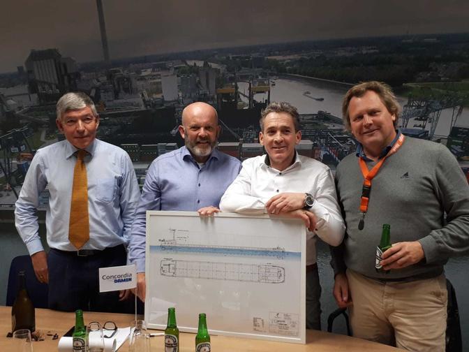 Den Bosch MAX tekent voor 2 nieuwe schepen Concordia Damen