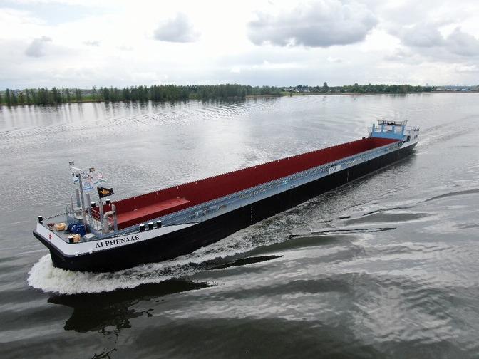 Technische proefvaart Alphenaar Concordia Damen