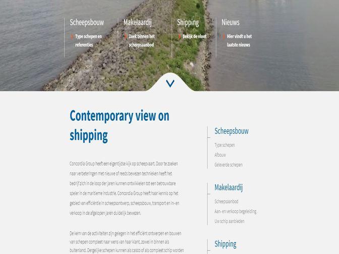 Nieuwe website Concordia Group Concordia Group