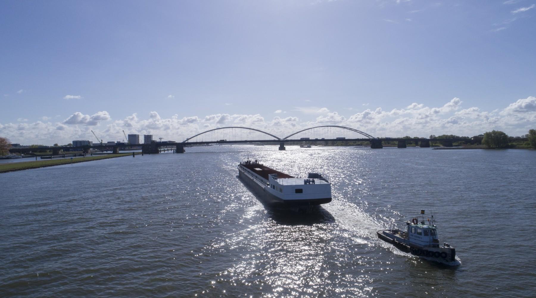 Aankomst casco Gouwenaar | Concordia group