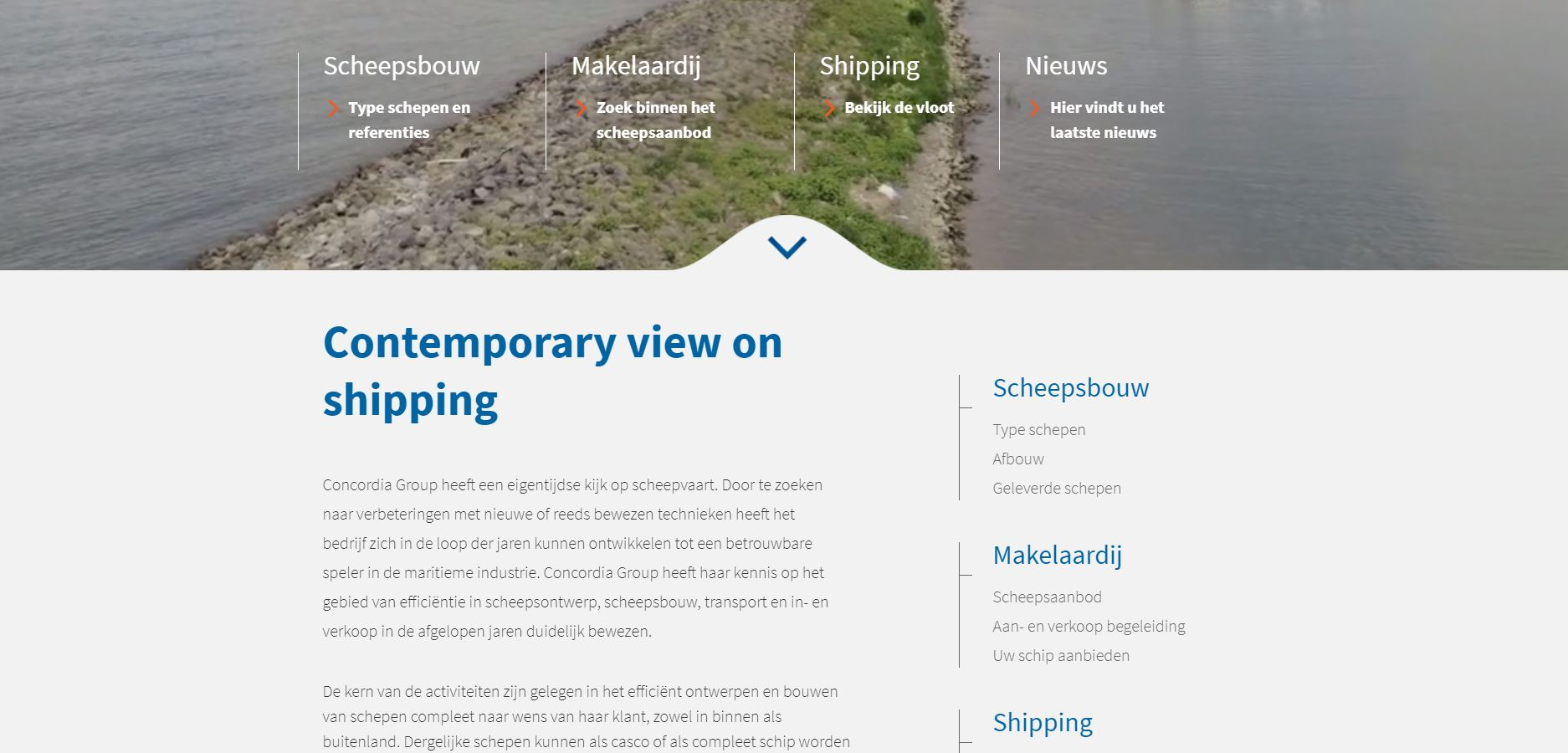 Nieuwe website Concordia Group | Concordia Damen